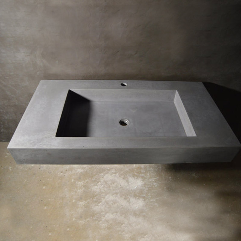 SLIM LINE SINK WITH HOLES