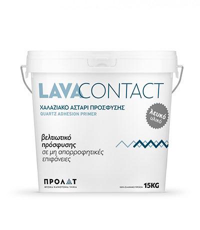 LavaContact – Χαλαζιακό Αστάρι Πρόσφυσης Λευκό  Image